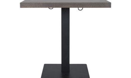 CANETT Morton Cafébord – Mørkebrun