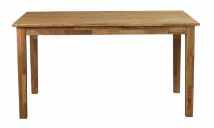 Linus spisebord – massiv eg m. udtræk (140×90)
