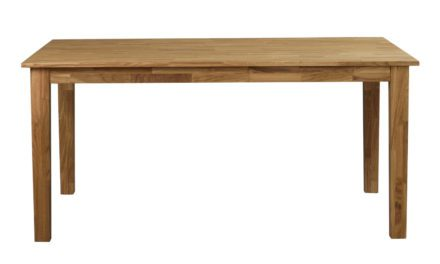 Linus spisebord – massiv eg m. udtræk (180×90)