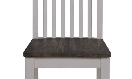 Nottingham spisebordsstol – hvid