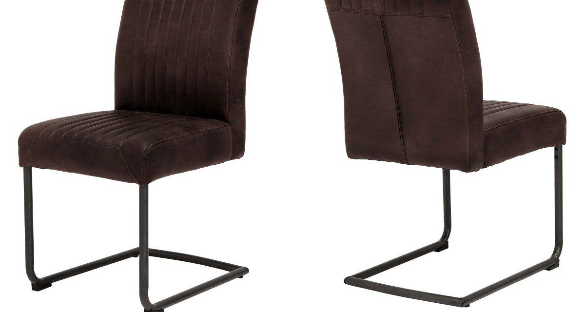 CANETT Pitou spisebordsstol – Mørkebrun