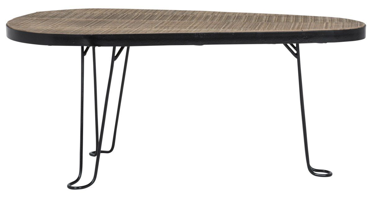 CANETT Blackwood sofabord – Genbrugstræ
