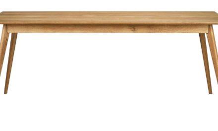 Yumi spisebord – Lakeret egetræ, 190×90