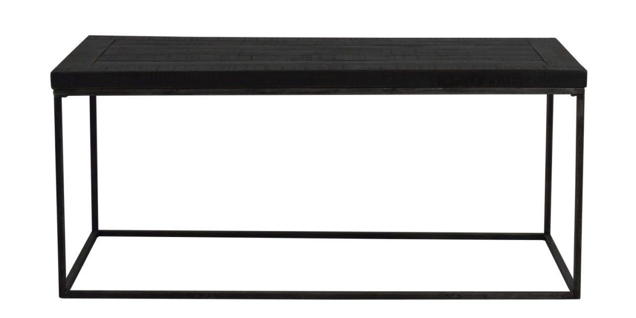 Dalton sofabord – sort træ og metal