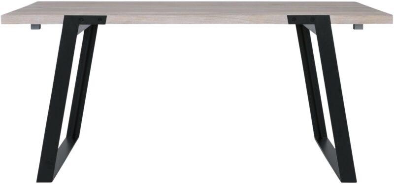 CANETT Zilas plankebord – hvidolieret m. udtræk (170×80)