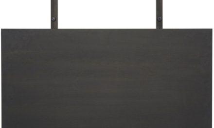 CANETT Aspen tillægsplade, ende – Antracitgrå