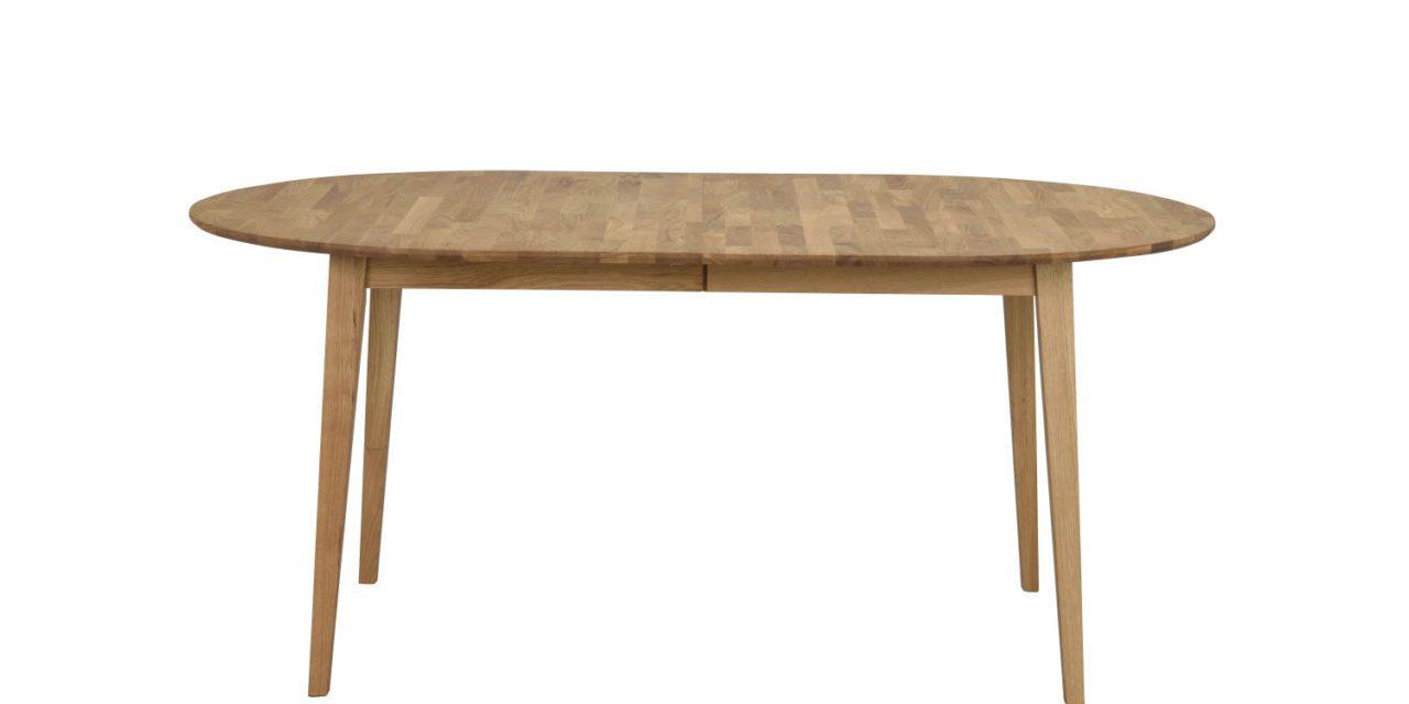 Filippa spisebord – eg, inkl. tillægsplade (105×170)