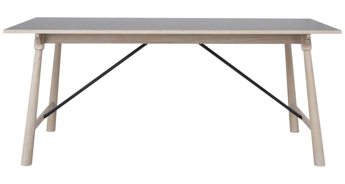 CANETT Stanton spisebord – Mørkegrå