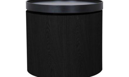 CANETT Odnes sofabord – sort træ