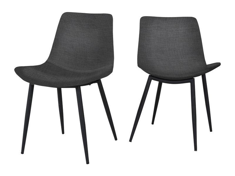 CANETT Rodi spisebordsstol – Mørkegrå