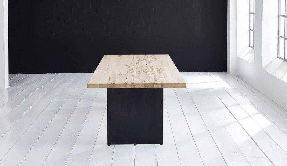 Concept 4 You plankebord – Lige kant med Line ben, m. udtræk 6 cm 220 x 110 cm 04 = desert
