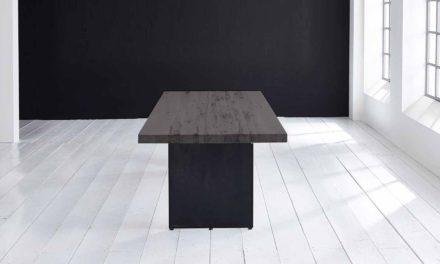 Concept 4 You plankebord – Lige kant med Line ben, m. udtræk 6 cm 280 x 110 cm 07 = mocca black