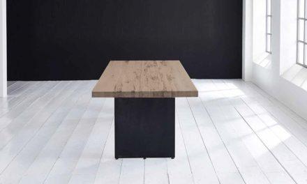 Concept 4 You plankebord – Lige kant med Line ben, m. udtræk 6 cm 200 x 110 cm 02 = smoked