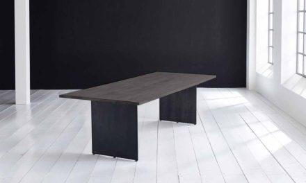 Concept 4 You plankebord – Lige kant med Line ben, m. udtræk 3 cm 240 x 100 cm 07 = mocca black