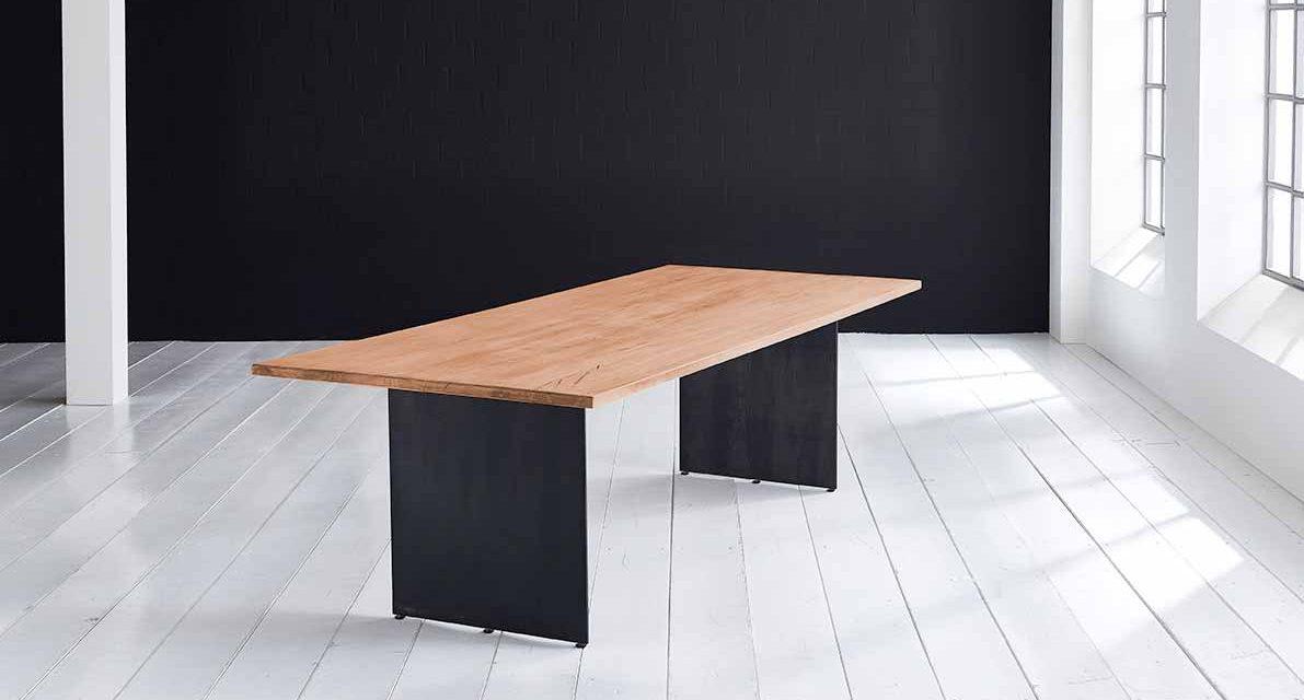 Concept 4 You plankebord – Lige kant med Line ben, m. udtræk 3 cm 220 x 100 cm 06 = old bassano