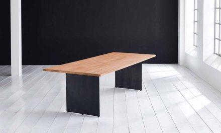 Concept 4 You plankebord – Lige kant med Line ben, m. udtræk 3 cm 240 x 100 cm 06 = old bassano