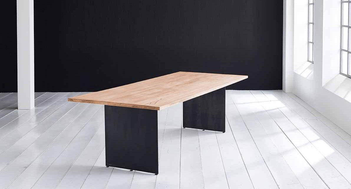 Concept 4 You plankebord – Lige kant med Line ben, m. udtræk 6 cm 180 x 110 cm 04 = desert