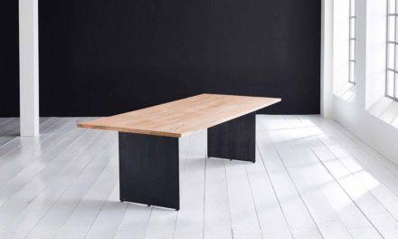 Concept 4 You plankebord – Lige kant med Line ben, m. udtræk 3 cm 260 x 100 cm 01 = olie