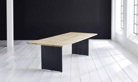 Concept 4 You plankebord – Lige kant med Line ben, m. udtræk 3 cm 260 x 100 cm 05 = sand