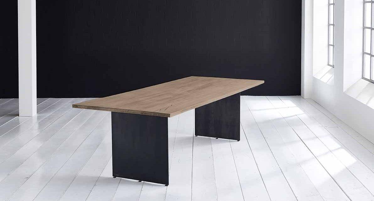 Concept 4 You plankebord – Lige kant med Line ben, m. udtræk 3 cm 260 x 100 cm 02 = smoked