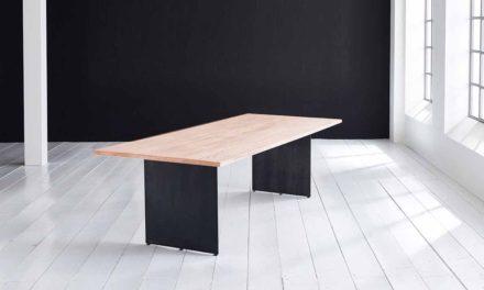 Concept 4 You plankebord – Lige kant med Line ben, m. udtræk 3 cm 200 x 100 cm 03 = white wash