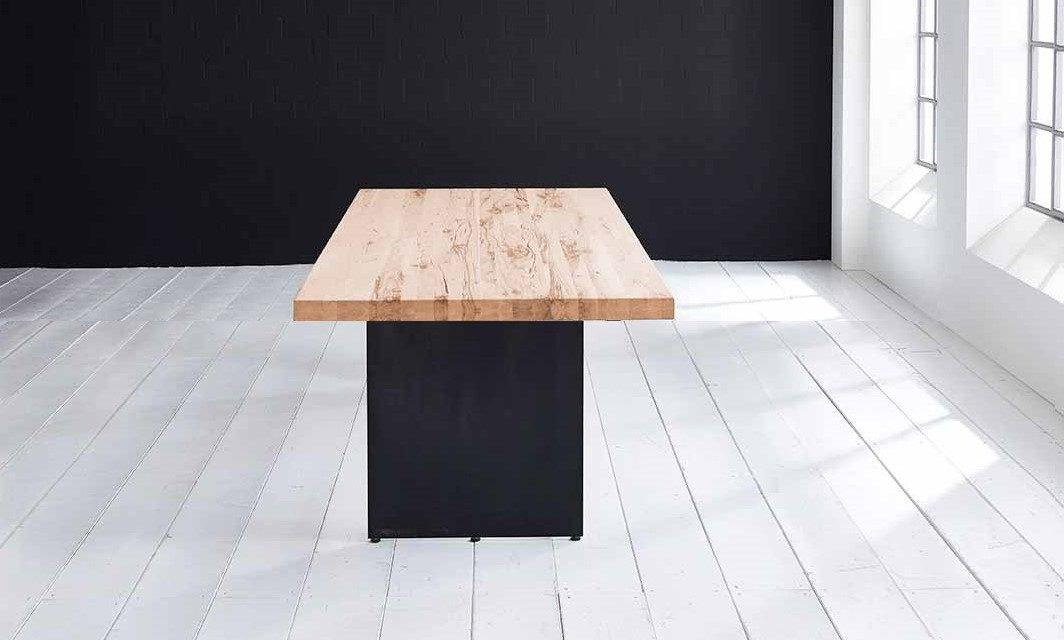 Concept 4 You plankebord – Lige kant med Line ben, m. udtræk 6 cm 300 x 100 cm 01 = olie