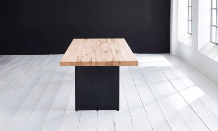 Concept 4 You plankebord – Lige kant med Line ben, m. udtræk 6 cm 200 x 100 cm 01 = olie
