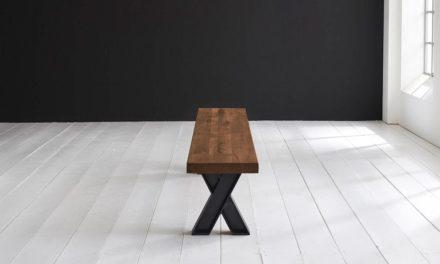 Concept 4 You Spisebordsbænk – X-ben 280 x 40 cm 6 cm 06 = old bassano