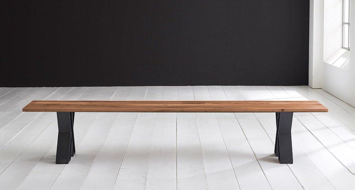 Concept 4 You Spisebordsbænk – X-ben 180 x 40 cm 3 cm 06 = old bassano