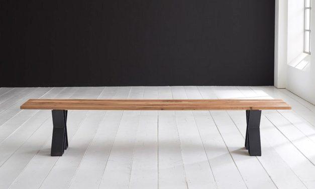 Concept 4 You Spisebordsbænk – X-ben 180 x 40 cm 3 cm 01 = olie