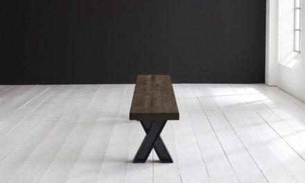 Concept 4 You Spisebordsbænk – X-ben 240 x 40 cm 6 cm 02 = smoked