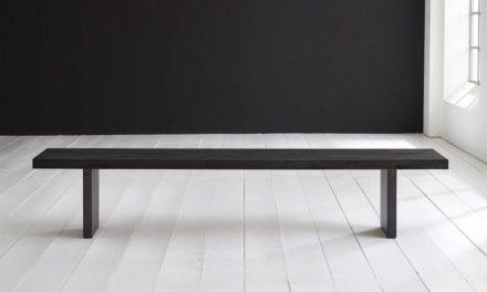 Concept 4 You Spisebordsbænk – T-Ben 280 x 40 cm 6 cm 07 = mocca black