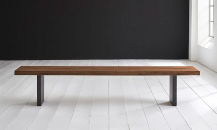 Concept 4 You Spisebordsbænk – T-Ben 260 x 40 cm 6 cm 06 = old bassano