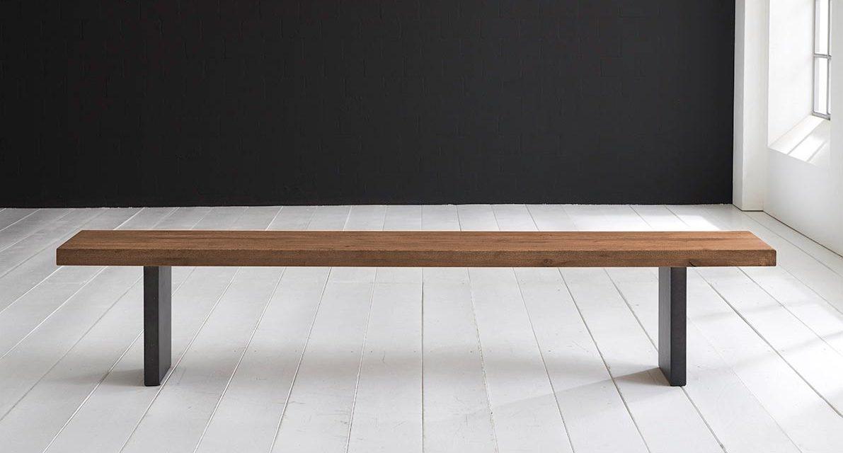 Concept 4 You Spisebordsbænk – T-Ben 260 x 40 cm 6 cm 01 = olie
