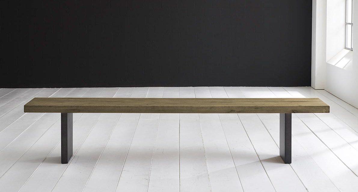 Concept 4 You Spisebordsbænk – T-Ben 200 x 40 cm 6 cm 05 = sand