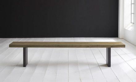 Concept 4 You Spisebordsbænk – T-Ben 240 x 40 cm 6 cm 05 = sand