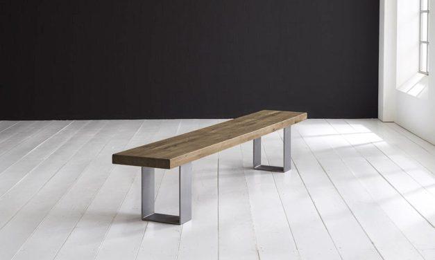 Concept 4 You Spisebordsbænk – Houston ben 300 x 40 cm 6 cm 04 = desert