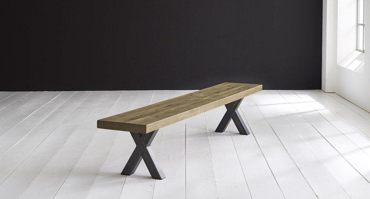 Concept 4 You Spisebordsbænk – Freja ben 180 x 40 cm 6 cm 05 = sand