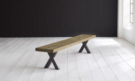 Concept 4 You Spisebordsbænk – Freja ben 200 x 40 cm 6 cm 05 = sand