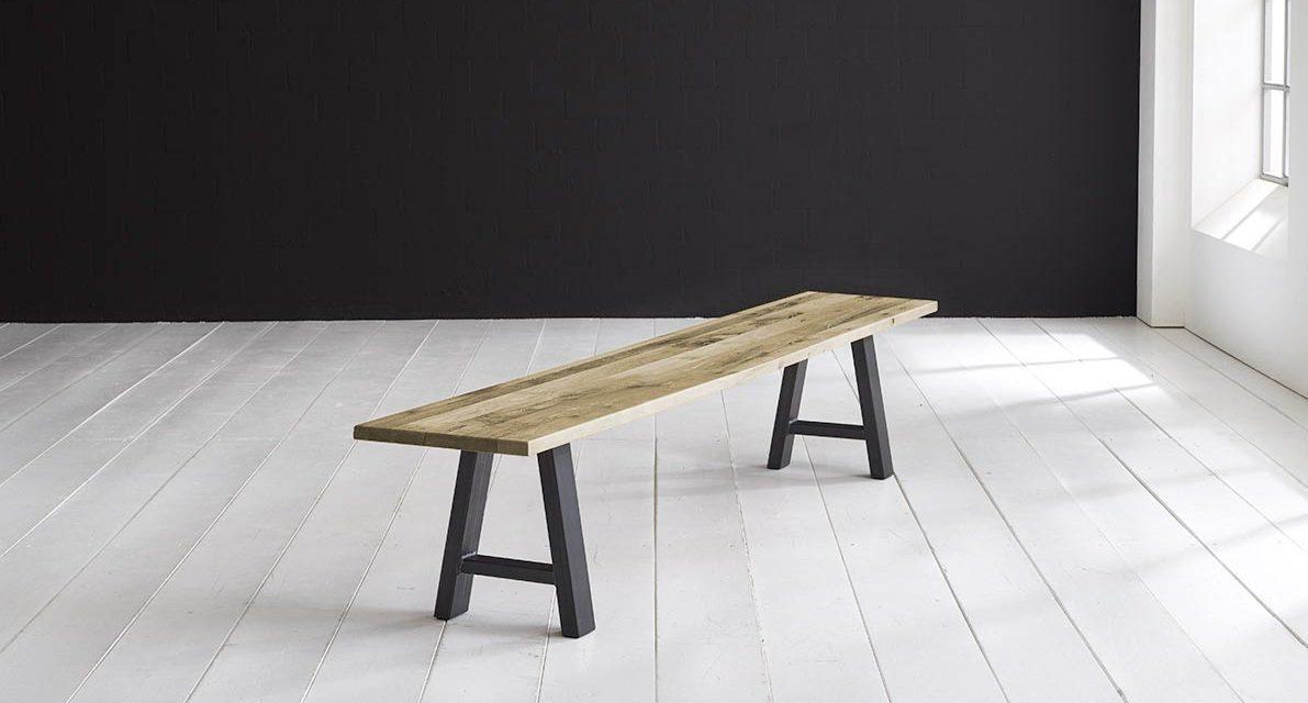 Concept 4 You Spisebordsbænk – Halo-ben 180 x 40 cm 3 cm 05 = sand