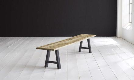 Concept 4 You Spisebordsbænk – Halo-ben 260 x 40 cm 3 cm 05 = sand
