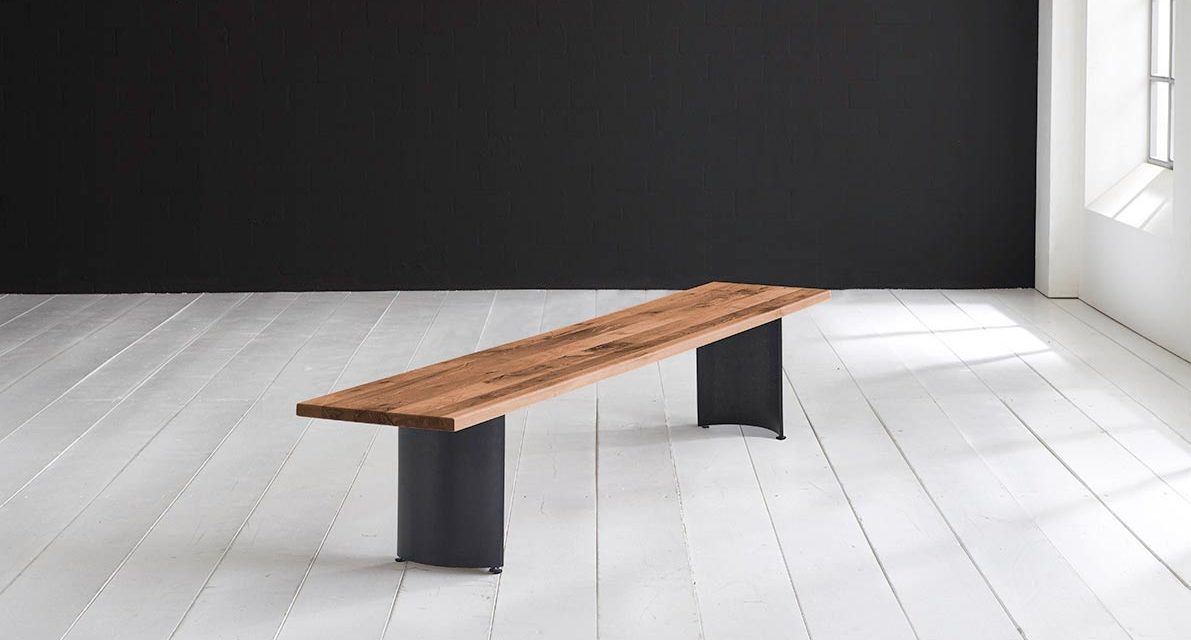 Concept 4 You Spisebordsbænk – Arc-ben 200 x 40 cm 3 cm 06 = old bassano