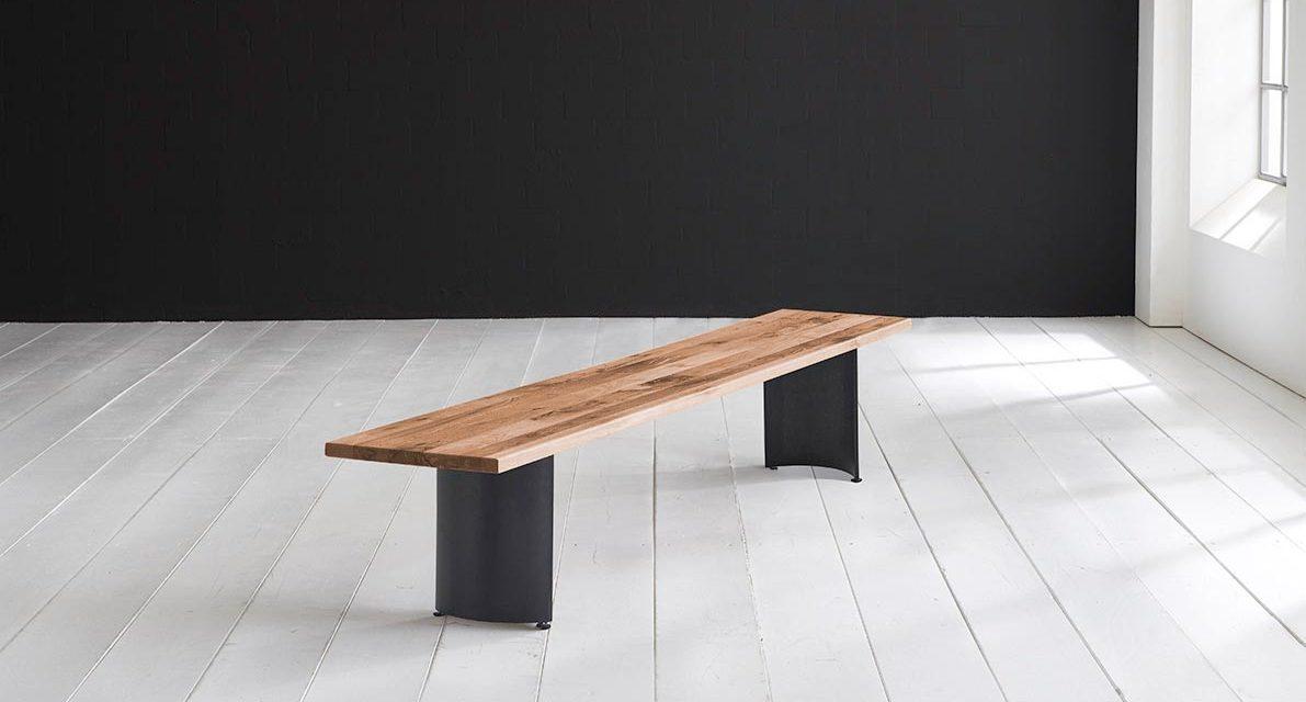 Concept 4 You Spisebordsbænk – Arc-ben 180 x 40 cm 3 cm 01 = olie