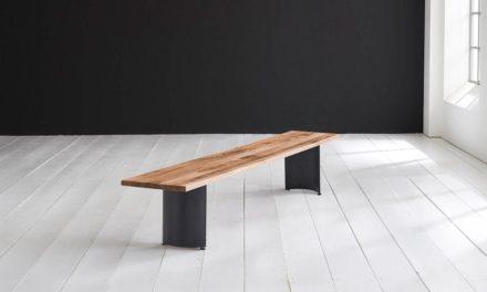 Concept 4 You Spisebordsbænk – Arc-ben 240 x 40 cm 3 cm 01 = olie