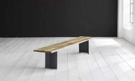 Concept 4 You Spisebordsbænk – Arc-ben 220 x 40 cm 3 cm 05 = sand