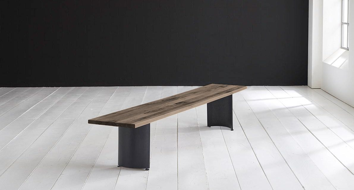 Concept 4 You Spisebordsbænk – Arc-ben 260 x 40 cm 3 cm 02 = smoked