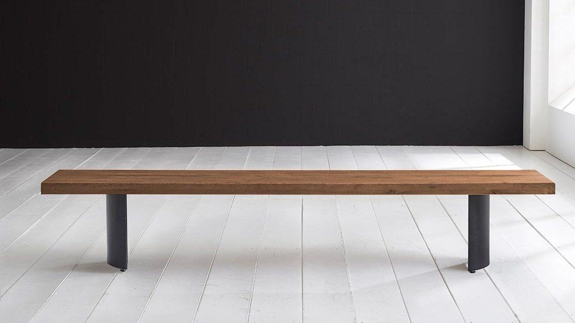 Concept 4 You Spisebordsbænk – Arc-ben 200 x 40 cm 6 cm 01 = olie