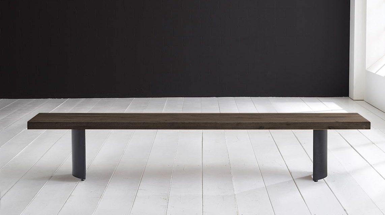 Concept 4 You Spisebordsbænk – Arc-ben 180 x 40 cm 6 cm 02 = smoked
