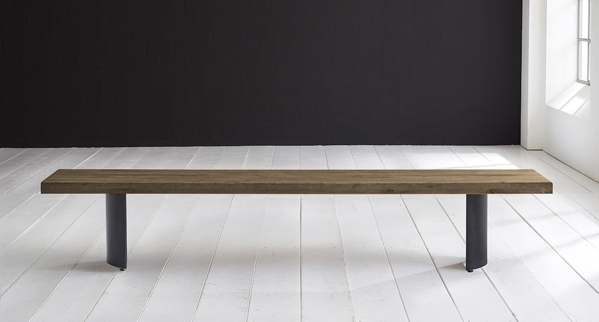 Concept 4 You Spisebordsbænk – Arc-ben 280 x 40 cm 6 cm 04 = desert