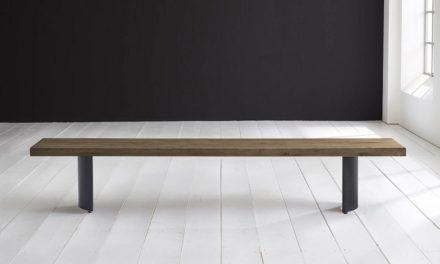 Concept 4 You Spisebordsbænk – Arc-ben 300 x 40 cm 6 cm 04 = desert